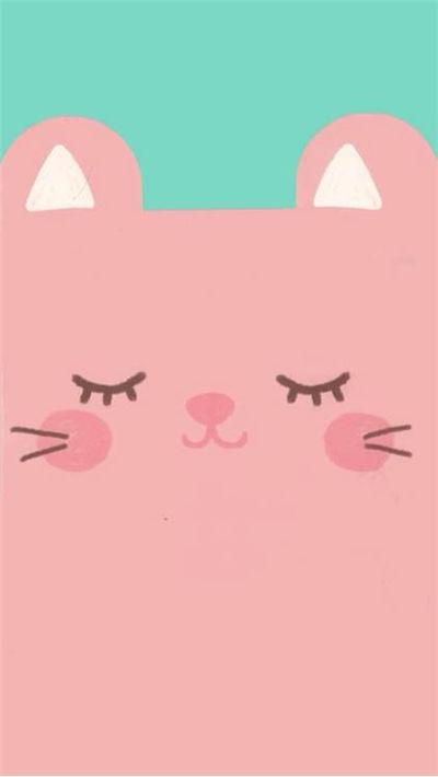卡通可爱动物头部qq皮肤图片