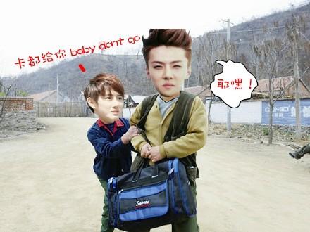 EXO搞笑图片绝对无节操