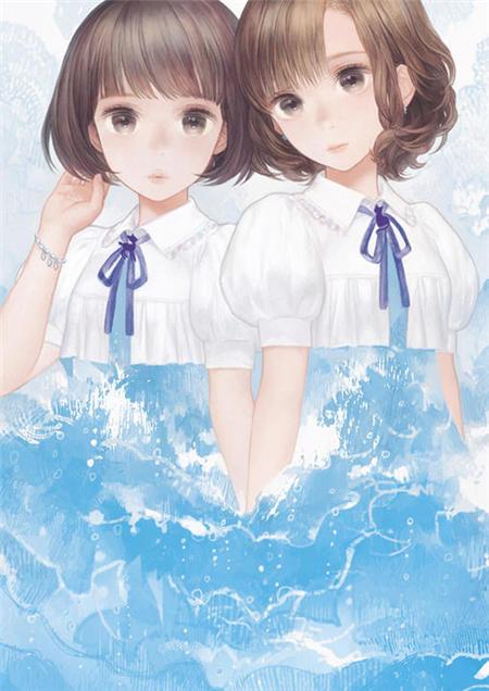 日本动漫姐妹图片,好姐妹一生陪伴图片