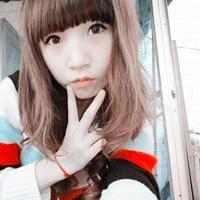 阿宝色QQ头像女生,阿宝色系中分女生头像