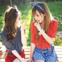 一起疯一起笑头像姐妹/2姐妹QQ头像