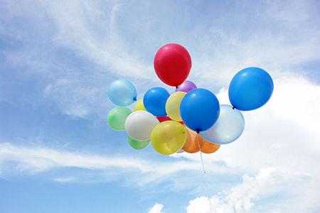 好看的气球图片