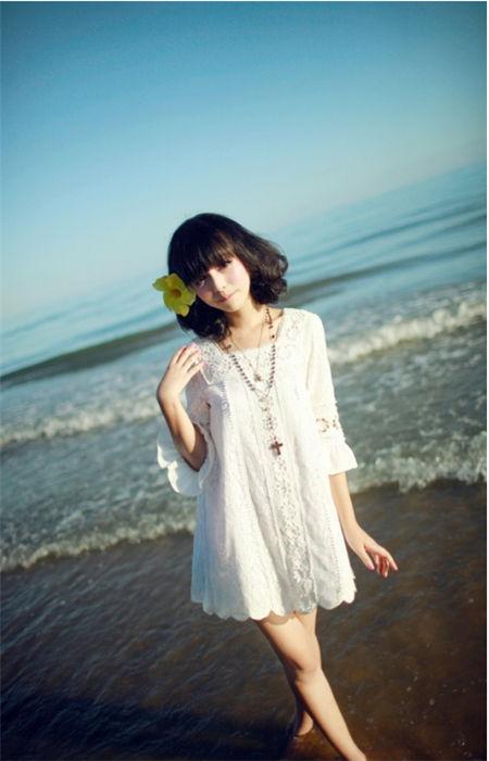 清爽范儿夏季女生可爱qq皮肤图片