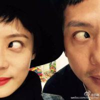 邓超和孙俪情侣QQ头像图片 搞怪范儿