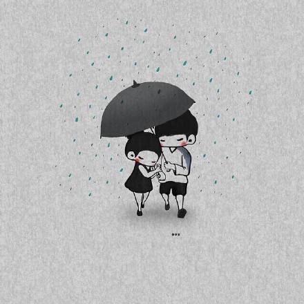 感人的情侣图片