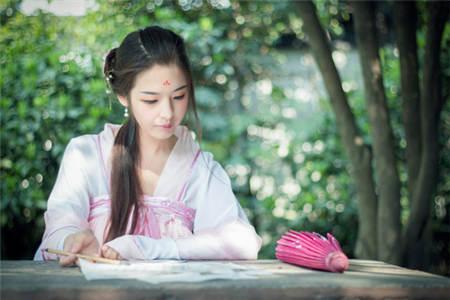 中国传统汉服美女图片(2)