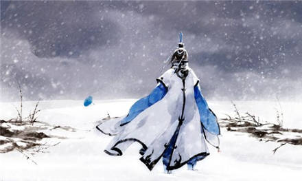 手绘唯美意境古风插画图片(2)