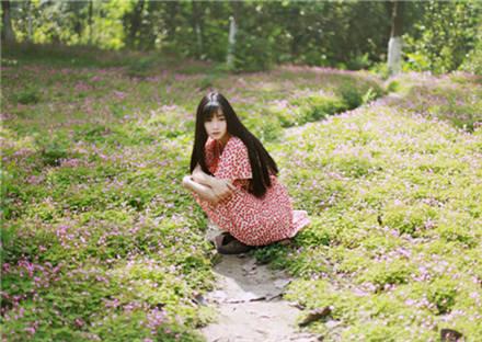 森系图片女生意境大图 2