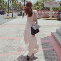 qq女生头像全身穿长裙唯美范儿