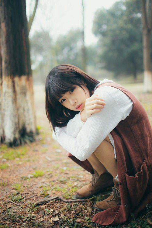 杨依丰韵人体 国模杨依性感写真图片