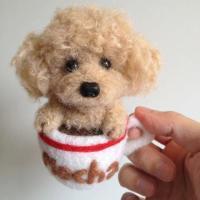 茶杯犬图片QQ头像