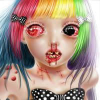 超恐怖的SD娃娃qq头像图片