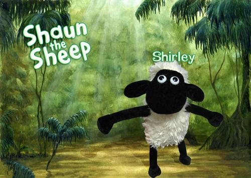 小羊肖恩卡通图片大全