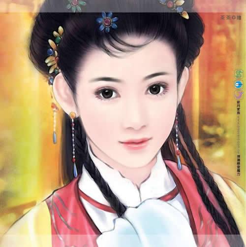 日本写真美女有哪些_手绘古代美女图片