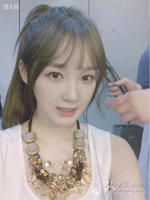 女生韩式刘海发型图片