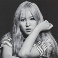 韩国女星孙承焕黑白qq头像