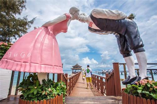 海南蜈支洲岛风景图片大全