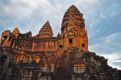 柬埔寨吴哥寺风景图片