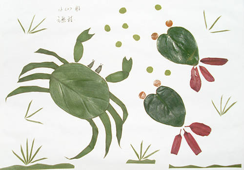 用树叶做成的画_我的树叶贴成的画漂亮吗?-漂亮的树叶粘贴画,故事怎么写