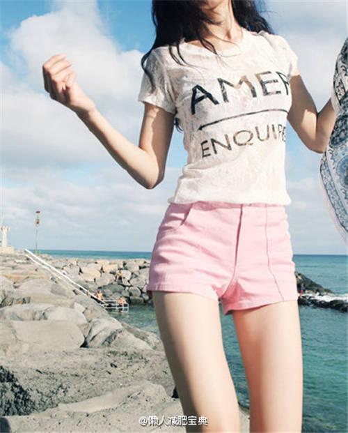 美女健身的励志图片,拥有完美好身材