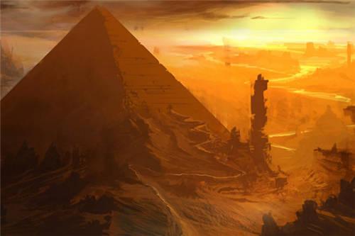 埃及金字塔法老卡通图-金字塔图片大全图片