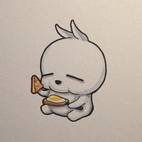卡通水彩画qq头像
