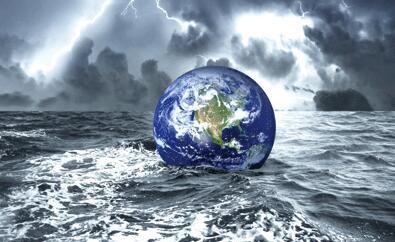 不要为了金钱,污染地球环境!