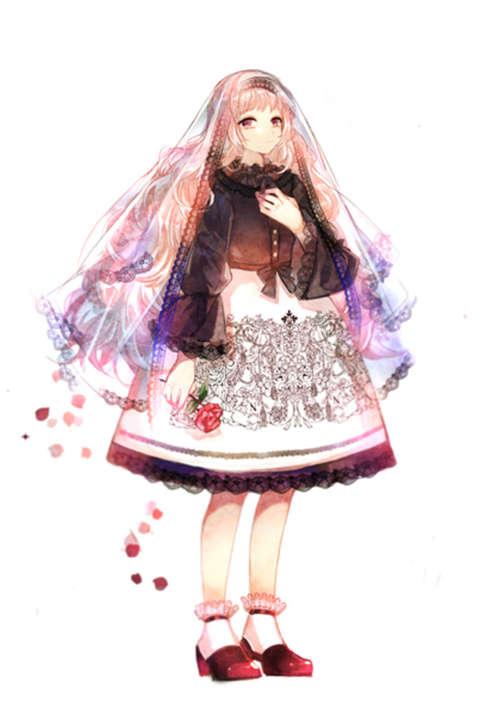 二次元洛丽塔可爱俏皮洋装图片