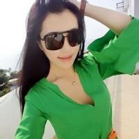 森系绿色女生头像