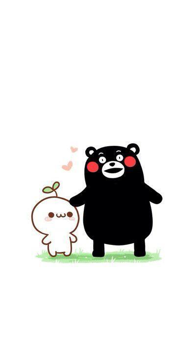 �L草君和熊本熊的可�劭ㄍ�QQ情�H皮