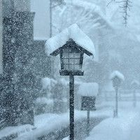 唯美好看的雪景头像