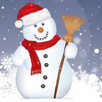 可爱的雪人头像
