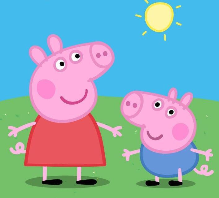 小猪乔治图片