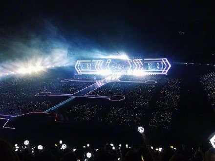 EXO演唱会应援海图片