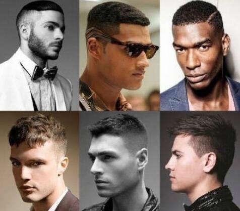 2017年最流行的欧美型男发型图片