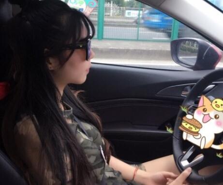 新手女司机上路的说说